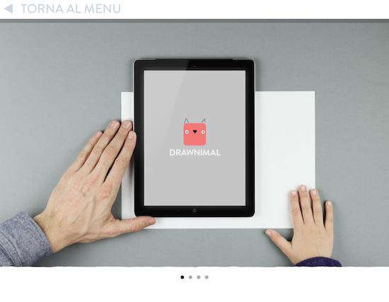 Mettti il tuo ipad su un foglio di carta o una superficie su cui disegnare