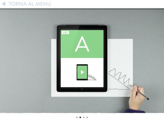 disegna attorno all'iPad come viene mostrato sullo schermo