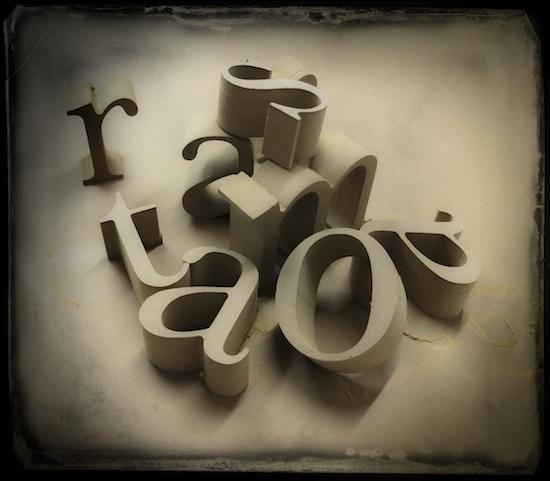 lettere grezze