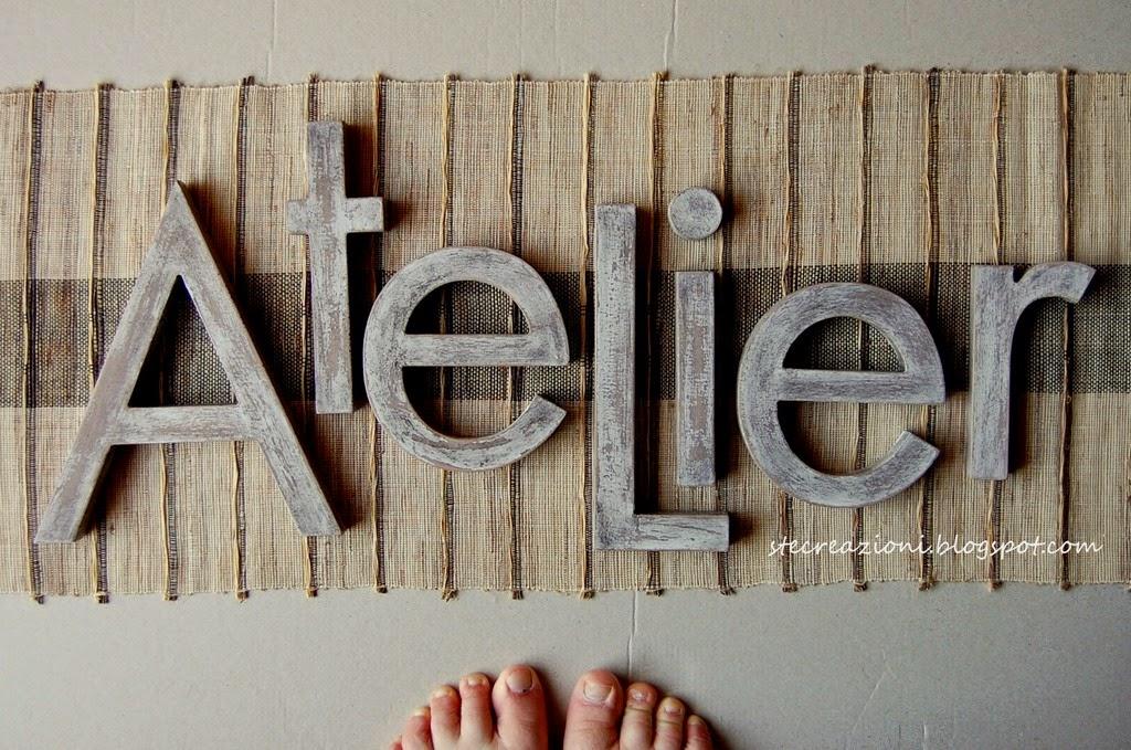 di Ste creazioni passa anche attraverso le nostre Lettere di legno ...